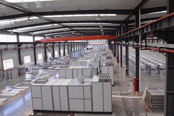 富平热电采用组合式空调机组