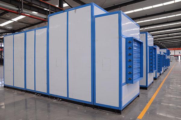 河曲电厂采用蒸发冷却空气处理机